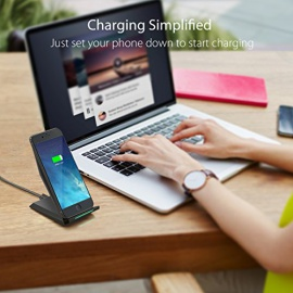 Chargeur à Induction Pour Galaxy note 8/ s8/s8 plus/ S7 Edge / S6 Ed