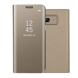Sycode Galaxy A5 2017 Miroir Coque,Galaxy A5 2017 Flip Case,Galaxy A5 2017 Coin Complet Protecteur Portefeuille étui,Luxe élégan