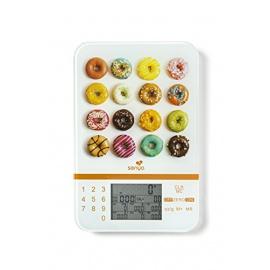 Senya balance cuisine nutritionnelle tactile Smart Scale, balance alimentaire écran LCD de haute précision, calcul des apports é