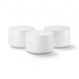 Google Wifi Pack de 3 Routeurs sans Fil Bluetooth Blanc