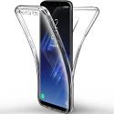 Coque Samsung Galaxy S9 Etui  Transparent Silicone Gel Case Intégral 360 Degres
