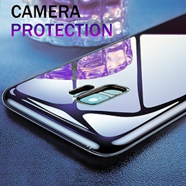 Coque Samsung Galaxy S9  Liquid Crystal Etui avec Absorption de Choc et Anti-Scratch C
