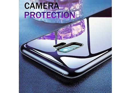 Coque Galaxy S9, Infreecs Liquid Crystal Housse Galaxy S9 Souple Coque TPU Bumper Etui avec Absorption de Choc et Anti-Scratch C