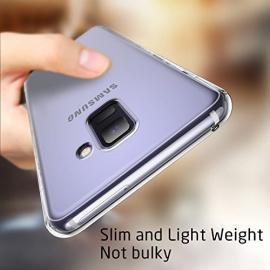 Coque Samsung Galaxy A8 Silicone Transparente TPU Souple