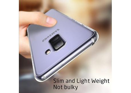 Coque Samsung A8, Coque Galaxy A8 Silicone, ESR Samsung Galaxy A 8 Coque Transparente Gel Silicone TPU Souple, Housse Etui de Pr
