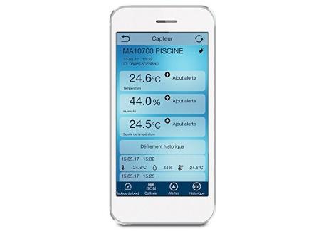 La Crosse Technology MA10700 Kit Piscine Connecté Mobile Alerts - A ajouter au kit de démarrage