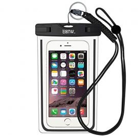 EOTW Housse étanche, Certifiée IPX8 pour Téléphone de taille égale et inférieure à 6'