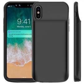 Coque Batterie iPhone XS / X, 6000mAh Chargeur Portable Batterie Externe Rechargeable Puissante Power Bank Coque Charge