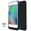 Coque Batterie Externe Rechargeable iPhone 6/6S - 3200mAh Chargeur Batterie de Secours Portable Coque de Protection Ultra Min