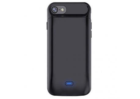 Bovon 5000mAh Coque Batterie iPhone 8/7 Chargeur Portable Batterie Externe Rechargeable Puissante Power Bank Coque Chargeur d