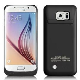 Coque Batterie Samsung Galaxy S6 Edge samsung S6 edge G925 G925A G925F MPTEK Noir 4200mAh Etui housse 5,1