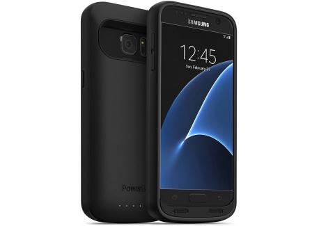 Powerbear Compatible pour Boîtier de Batterie Samsung Galaxy S7 [4500 MAh] Chargeur de Batterie Externe pour Le Galaxy S7 - N
