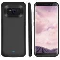 Coque Batterie Samsung Galaxy S8 Plus, 5500mAh 2 en 1 mulfonction