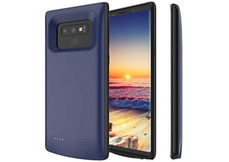 PEYOU Coque Batterie pour Samsung Galaxy S8 Plus, 5500mAh 2 en 1 mulfonction Coque Batterie sans mentonnière pour Galaxy S8 P