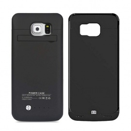 REDGO Batterie Externe pour Samsung Galaxy S6 Edge, 4200mAh Coque Batterie Slim Protectif Portable Charging Case Power Bank a