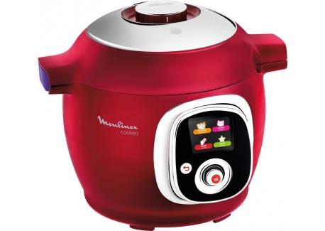 Moulinex CE701500 Intelligent Cookeo Multicuiseur avec 100 Recettes Rouge