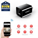 Mini Caméra de Surveillance 1080P HD Chargeur USB, Caméra Espion Portable Caméra de Sécurité WiFi