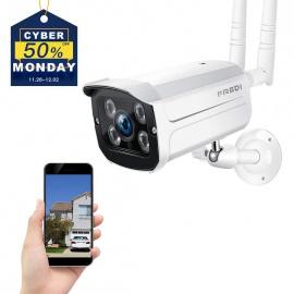 Caméra Sans Fil Extérieur Surveillance 1080P IP FREDI  Caméra de Sécurité WiFi Vision Nocturne Détecteur Mouvement