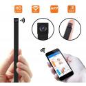 Caméra espion WiFi, Mini caméra de sécurité sans Fil 1080P détection de Mouvement